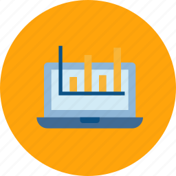 analytics, online, processing, seo, web icon