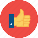 approve, favorite, like, recommendations, thumbs, up, vote icon