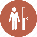 growth chart, height chart, height measuremen icon