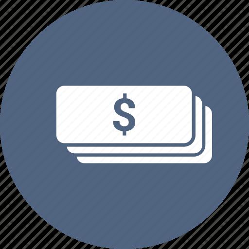 cash, dollar, money icon