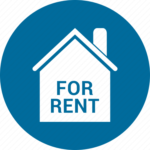 estate, for, home, real, rent icon