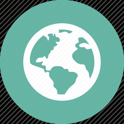 earth, globe, worldwide icon