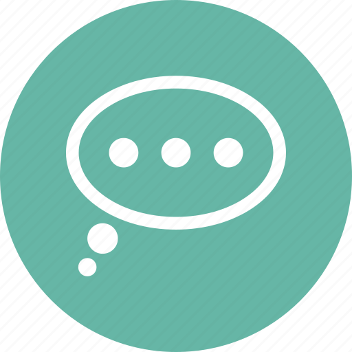 balloon, bubble, chat, message icon