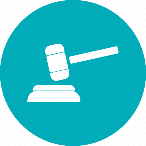 Gavel, justice, law, tribunal icon - Download on Iconfinder