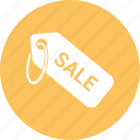 cost, money, price tag, sale icon