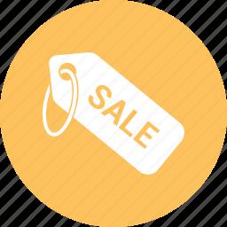 cost, money, price tag, sale icon