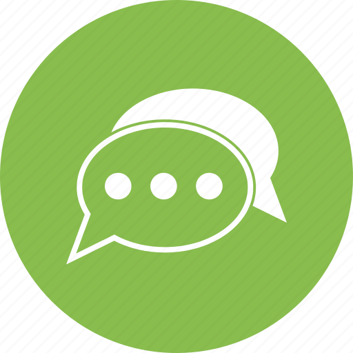 chat, conversation, message, text icon