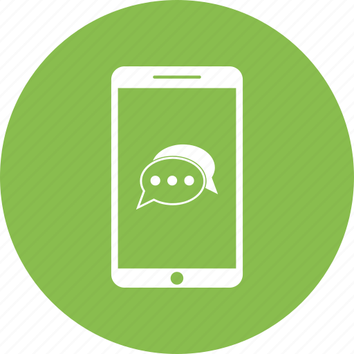 chat, message, mobile, msg, phone, smartphone icon