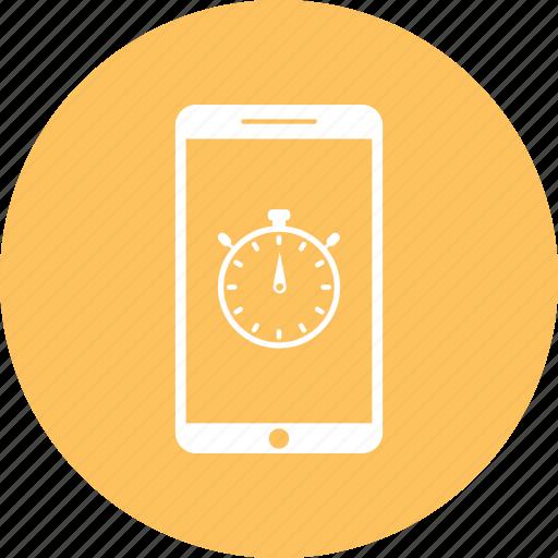 alram clock, clock, mobile, phone, smartphone icon