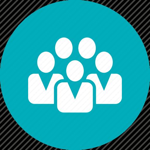 business, caucasian, corporate, office, team, work icon