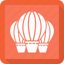 air balloon, charliere, fly balloon, hot airballoon icon