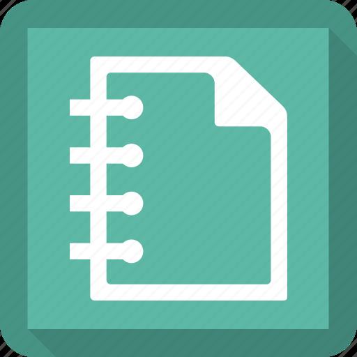 gradebook, notebook, notepad, notes icon