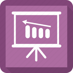 blackboard, education, math, presentation icon
