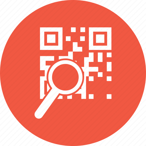 barcode, product, qr, search, shopping icon