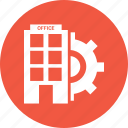 building, house, setting, business, office icon