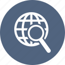 earth, internet, planet, search, web, world icon
