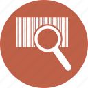 barcode, code, product, search icon