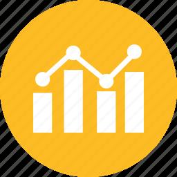 bar, chart, graph, increase icon