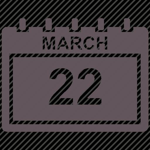 calendar, date, mar, schedule icon