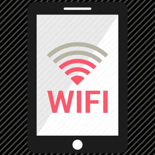 device, mobile, phone, smartphone, wifi icon