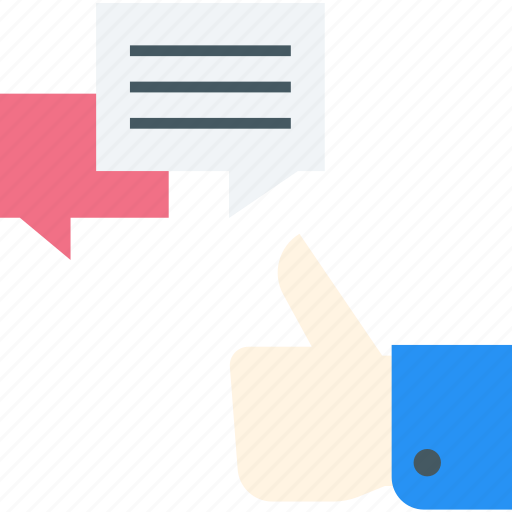 chat bubble, chatting, like, social campaign, social media, thumbs up icon icon