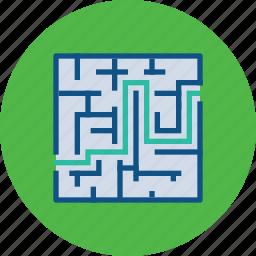 behavior, planning, problem, puzzle, seo, solving, strategic icon
