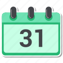 calendar, date, month icon