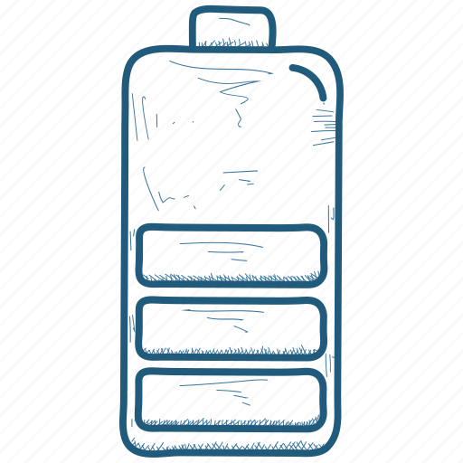 Battery, full, haf icon