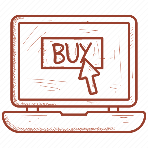 buy, computer, electronics, laptop icon