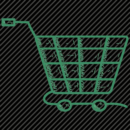 Basket, shopping, cart icon