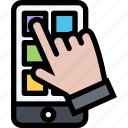 app, application, business, finance, phone, smartphone, technology icon