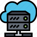 business, cloud, data, database, finance, server, storage icon