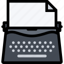 business, copywriting, finance, mechinetype, write, writing icon