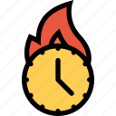 agenda, deadline, schedule, timer icon