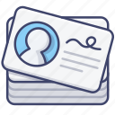 business, card, id, name icon