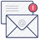 business, email, letter, mail icon