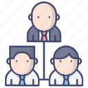 leader, management, staff, team icon