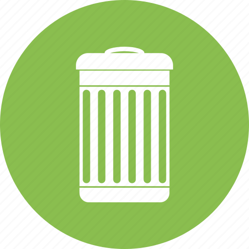 bin, dustbin, recycle, trash icon