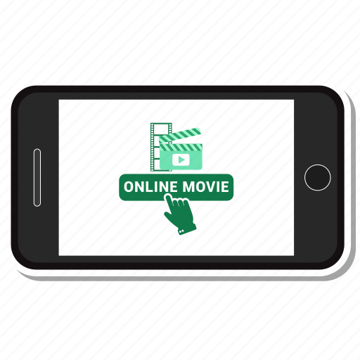 booking, mobile, movie, online icon