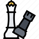 business, chess, finance, marketing, strategy icon