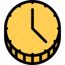 business, deadline, finance, money, schedule, time icon
