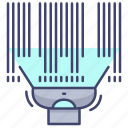 barcode, scanner, product, scan icon