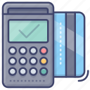 machine, credit, payment, card, pos icon