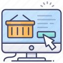 commerce, shopping, order, online icon