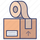 box, cargo, package, packaging icon