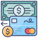 card, cash, credit, pay, payment icon