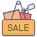 discount, price, shopping, sale icon