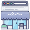 shop, browser, store, online icon