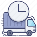 delivery, express, shipping, truck icon