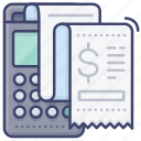 invoice, purchase, receipt, sold icon